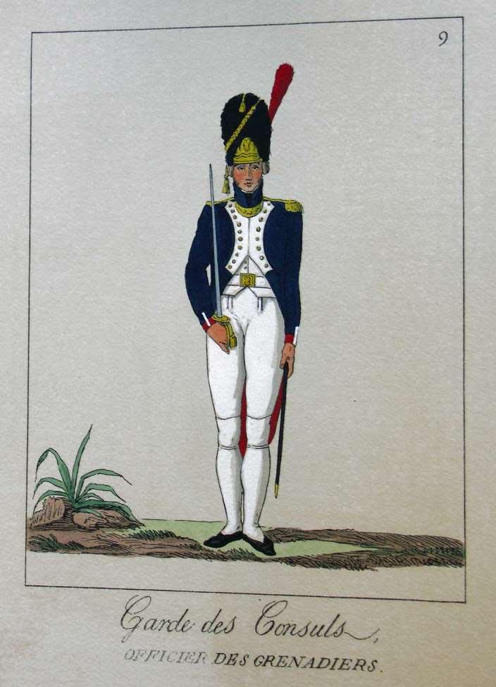 POTRELLE : LA GARDE DES CONSULS – 1801 Potrelle9b