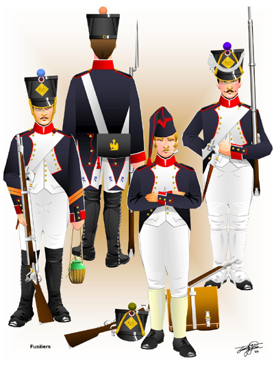 Fusiliers 1804 - 1812