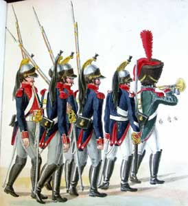 French Units in the Defense of Hamburg (1813 - 1814): the Uniform Plates of the Suhr Brothers