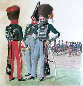 French Cavalry in Hamburg (1811 - 1812): the Uniform Plates of the Suhr Brothers