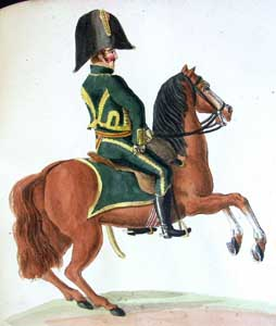 The Hanoverian  Legion Cavalry in Hamburg (1811): the Uniform Plates of the Suhr Brothers