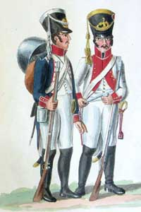 The French 5th Corps of the Armée du Réserve du Rhin in Hamburg (1806 - 1807): the Uniform Plates of the Suhr Brothers