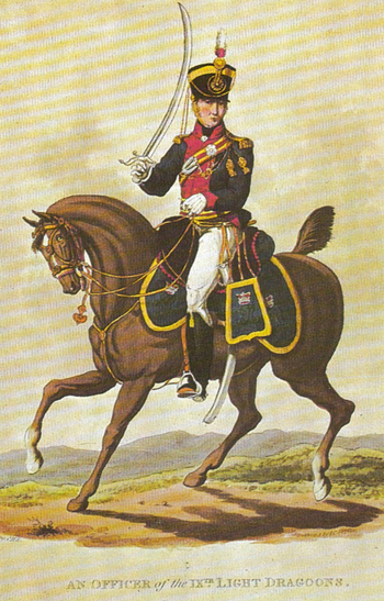 British Cavalry Regiments and the Men Who Led Them 1793-1815