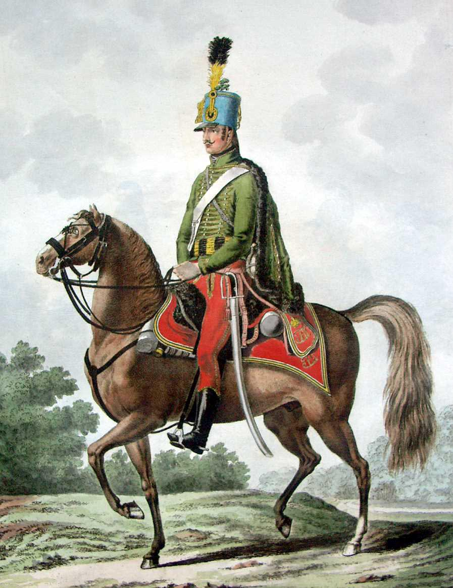 the austrian army in 1798  the uniform plates of