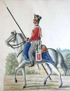 Polish Cavalry in Hamburg (1806 - 1814): the Uniform Plates of the Suhr Brothers