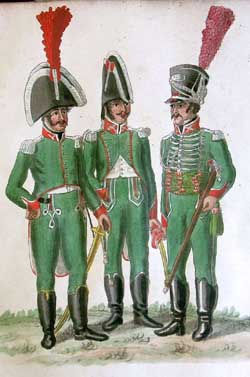 The Spanish Romana Division in Hamburg (1807 - 1808): the Uniform Plates of the Suhr Brothers