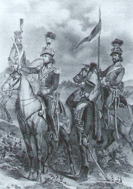 Austrian Uhlans and Hussars