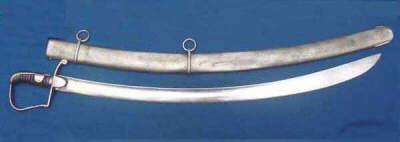 The British 1796 Pattern Light Cavalry Sword