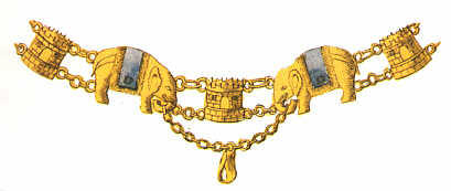 Denmark: Chain of the Order of the Elephant