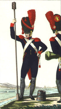 Imperial Guard Foot Artillery Uniforms