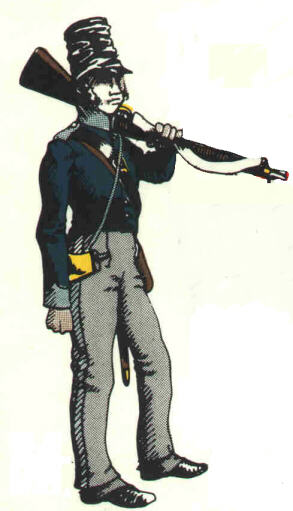 Hannoverian Light Infantryman