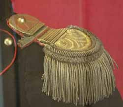 Epaulettes of Polish Horse Artillery Officer: 1812