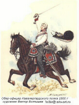 Officer of the Cavalry Guard Regiment
