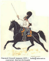 Private of the Cavalry Guard Regiment