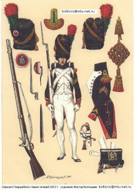 Chasseur of the French Imperial Guard
