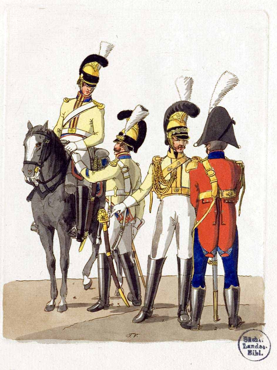 the uniforms of the saxon army in 1811. Black Bedroom Furniture Sets. Home Design Ideas