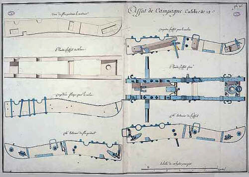 Field Cannon Carriage Plans http://www.napoleon-series.org/military/organization/systeman/c_systeman.html