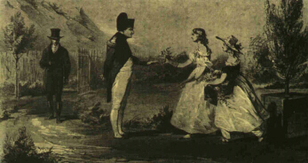 Napoleon and the Balcombe Girls