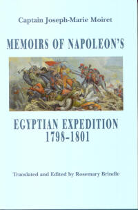Memoirs of Napoleon's Egyptian Expedition cover