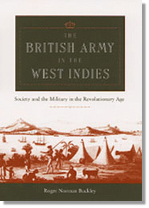 The British Army in the West Indies cover