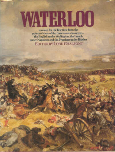 Waterloo: Three Armies cover