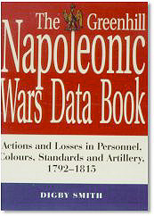 The Greenhill Napoleonic Wars Data Book cover